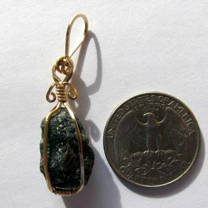 raw gems pendant may birthstone eme..
