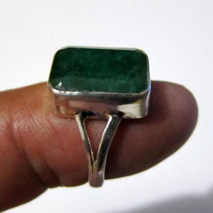 emerald ring colombian emeralds nat..
