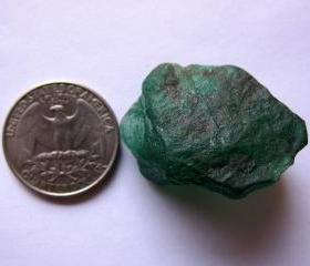 emerald rough emeral..
