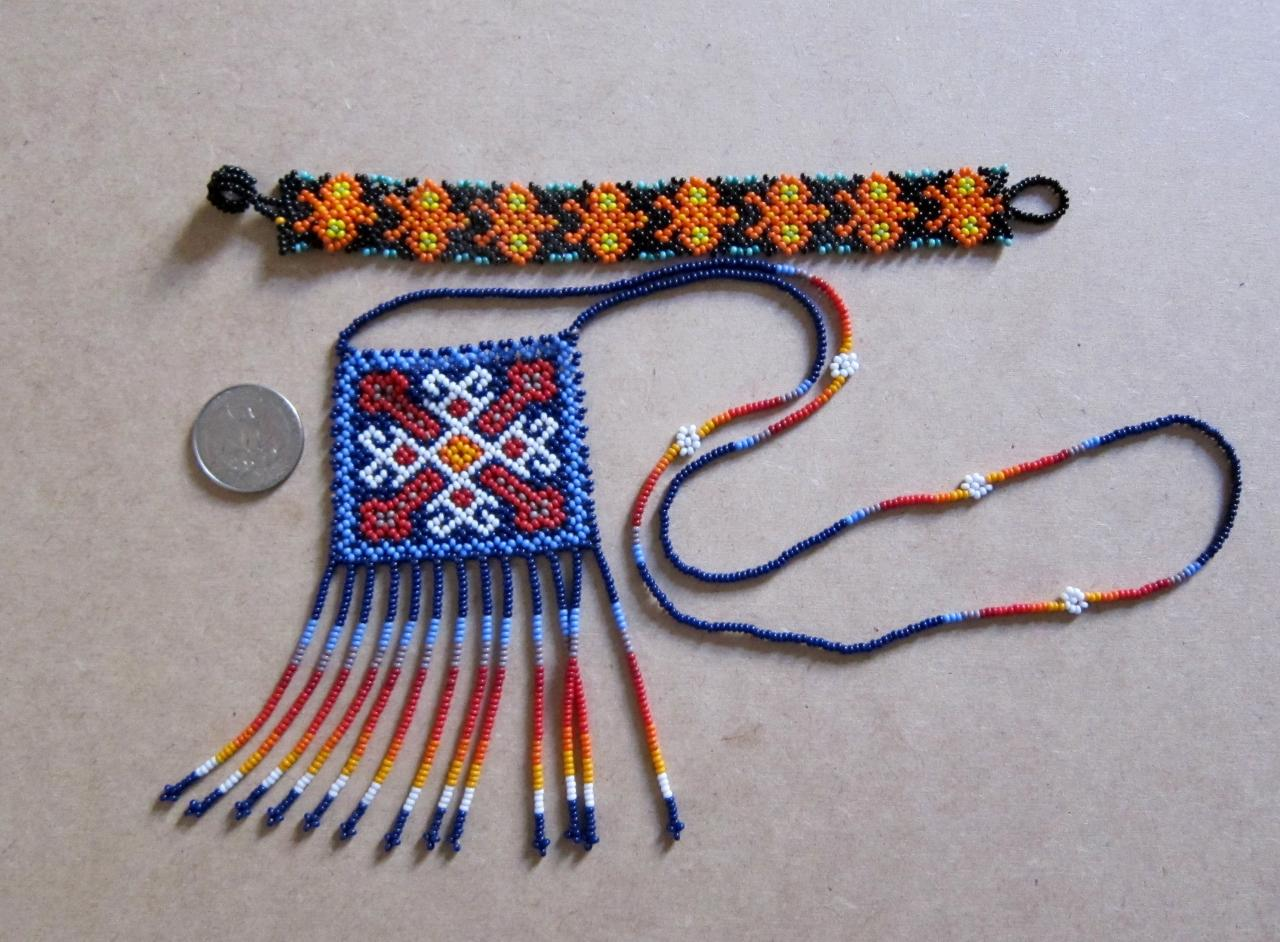huichol crafts mexican indians mexican folk art