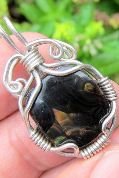fire agate jewelry fire agate pendant mexican fire agate