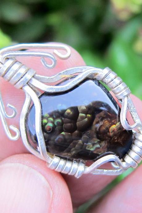 agate pendant agate jewelry mexican fire agate