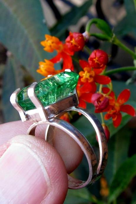 emerald ring may birthstone genuine emerald colombian emerald