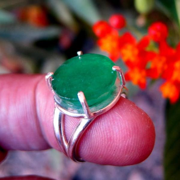 emerald ring emerald jewelry natural emerald ring boho chic