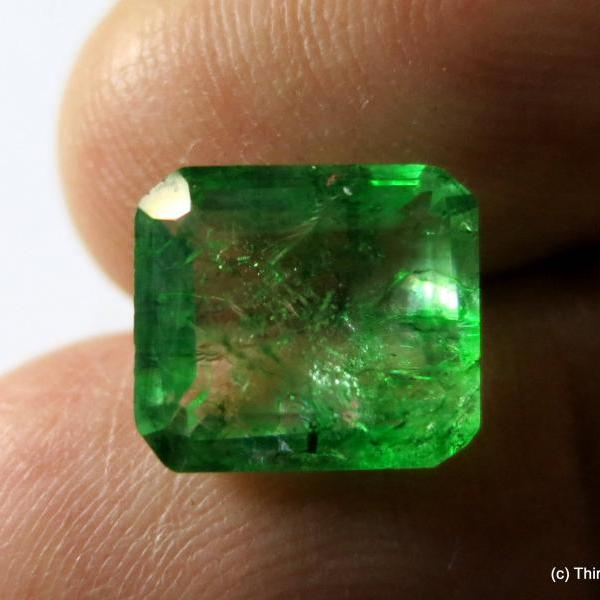 emerald cut emerald transparent natural emerald colombia emerald