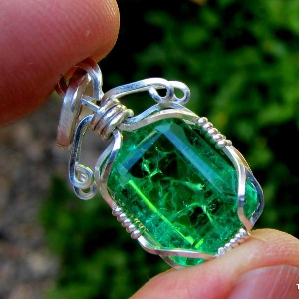emerald pendant emerald necklace emerald jewelry